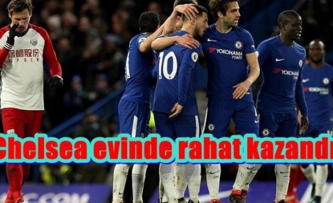 Chelsea evinde rahat kazandı