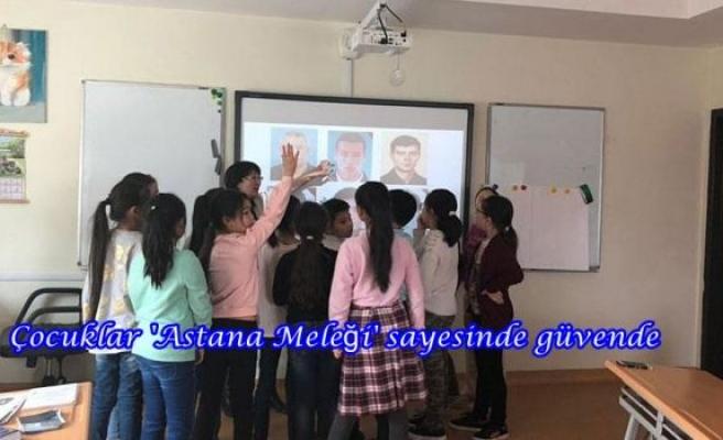 Çocuklar 'Astana Meleği' sayesinde güvende