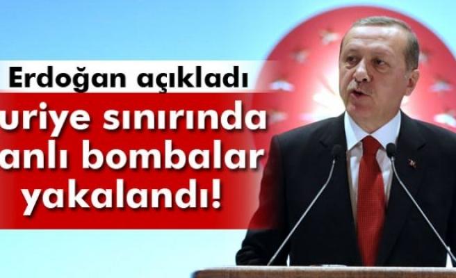 Cumhurbaşkanı Erdoğan: 'Canlı bombalar yakalandı'