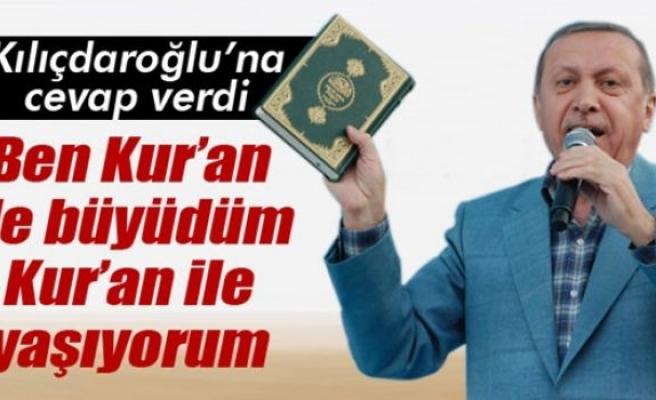 Cumhurbaşkanı Erdoğan, Kemal Kılıçdaroğlu'na cevap verdi