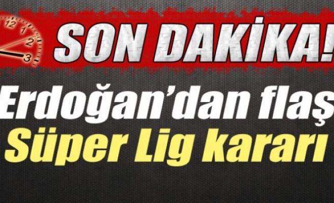 Cumhurbaşkanı Erdoğan, Süper Lig'in kaptanlarıyla görüşecek