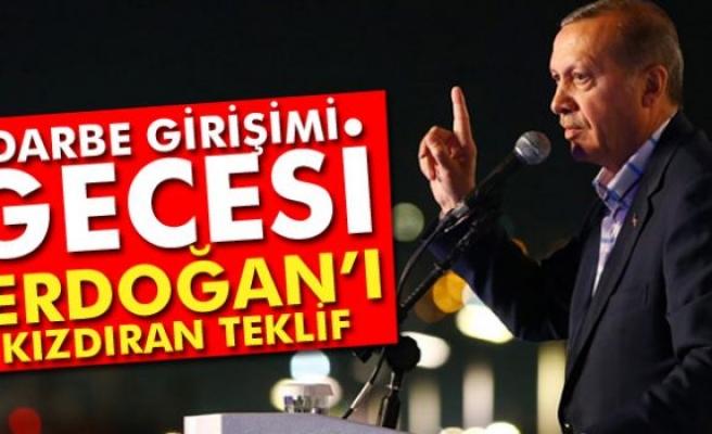 Cumhurbaşkanı Erdoğan'ı kızdıran teklif: 'Benim Yunan adalarında ne işim var'
