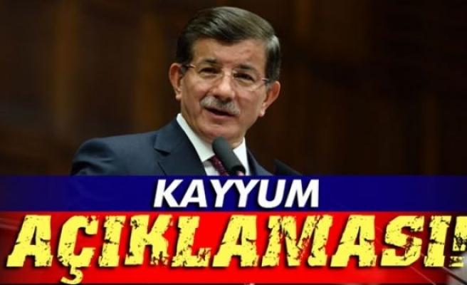 Davutoğlu'ndan kayyum açıklaması