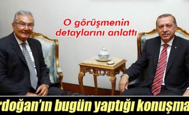 Deniz Baykal, Cumhurbaşkanı Erdoğan ile görüşmesini anlattı