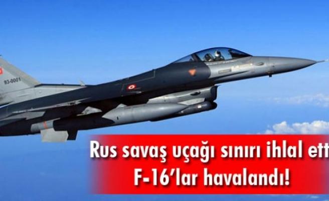 Dışişleri Bakanlığı: Rus uçağı Türk hava sahasını ihlal etti