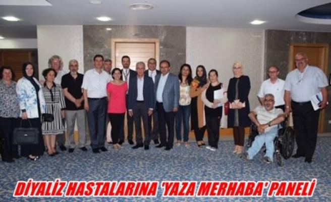 Diyaliz hastalarına ''Yaza merhaba'' paneli