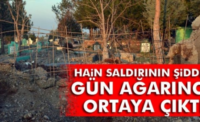 Diyarbakır'daki hain saldırının şiddeti gün ağarınca ortaya çıktı
