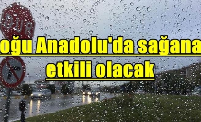 Doğu Anadolu'da sağanak etkili olacak