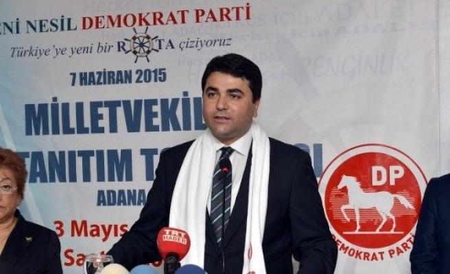 DP Genel Başkanı Uysal Adana'da