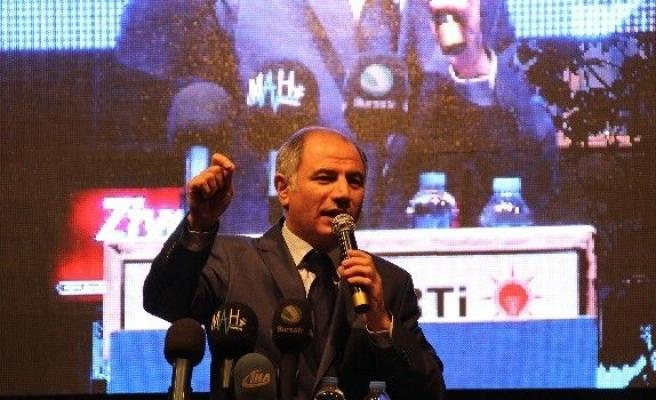 Efkan Ala Bursa'da Mahalle Mitingine Katıldı
