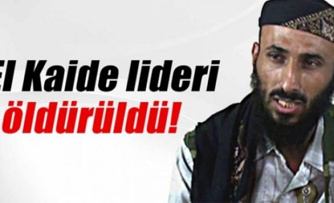 El Kaide lideri hava saldırısında öldürüldü