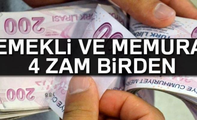EMEKLİ VE MEMURA ZAM!