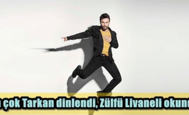En çok Tarkan dinlendi, Zülfü Livaneli okundu