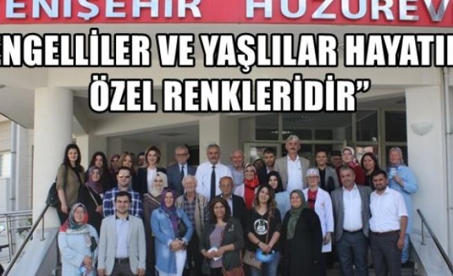 """ENGELLİLER VE YAŞLILAR HAYATIN ÖZEL RENKLERİDİR"""""""
