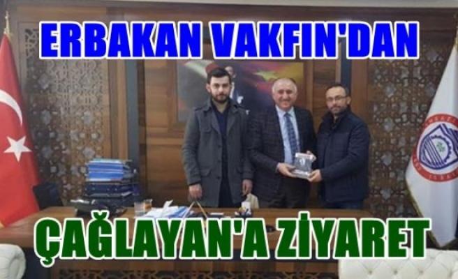 Erbakan Vakfı Orhangazi Temsilciliği'nden Belediye Başkanı Neşet Çağlayan'a ziyaret.
