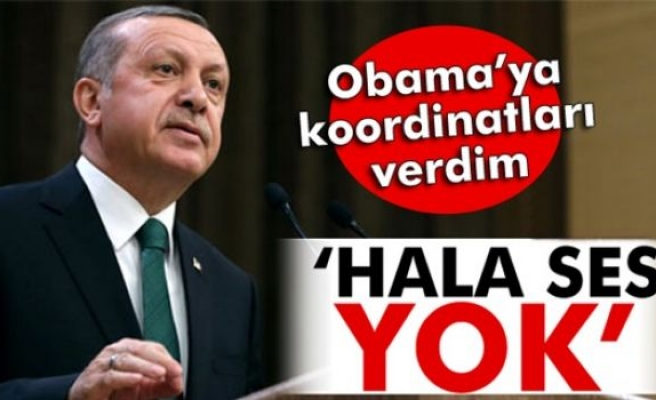 Erdoğan: 'Obama'yla söz konusu şehrin koordinatlarını dahi belirledik'