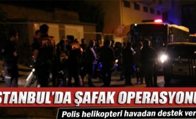 Esenler'de helikopter destekli hırsızlık operasyonu