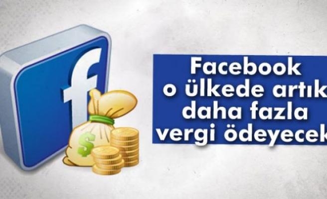 Facebook artık İngiltere'de daha fazla vergi ödeyecek