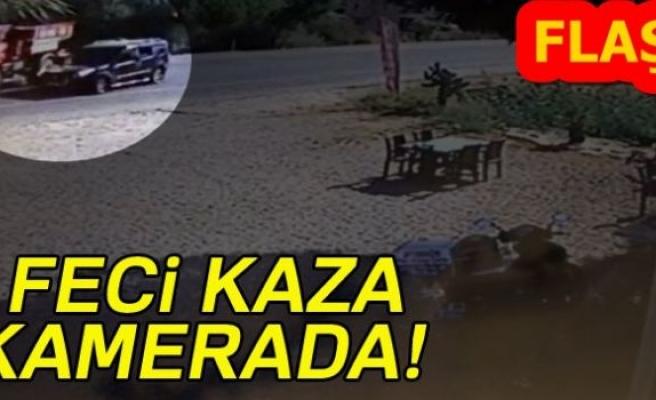 FECİ KAZA KAMERADA!