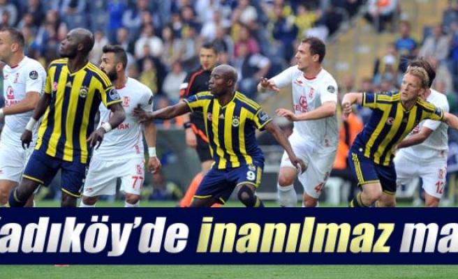 Fenerbahçe 3-3 Balıkesirspor