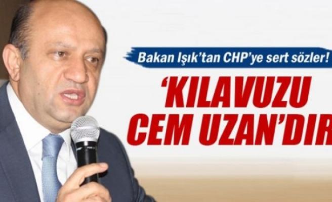 Fikri Işık: 'CHP'nin kılavuzu Cem Uzan'