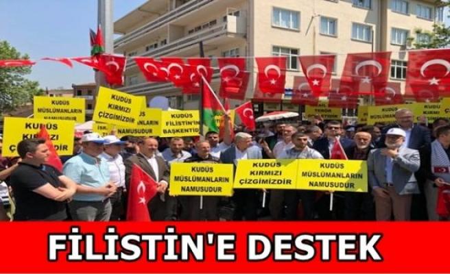 FİLİSTİN'E DESTEK