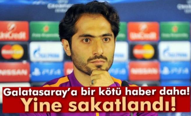 Galatasaray'da Hamit Altıntop şoku
