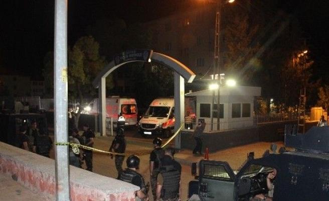 Gaziantep'te Kavgaya Müdahale Eden İki Polis Vuruldu