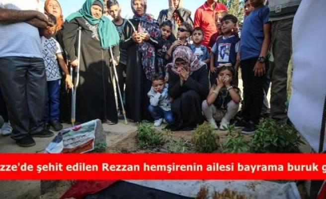 Gazze'de şehit edilen Rezzan hemşirenin ailesi bayrama buruk girdi