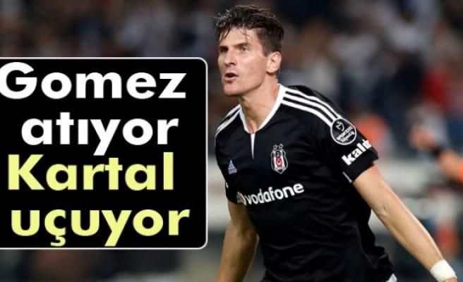 Gomez atıyor, Kartal uçuyor