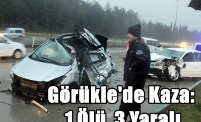 Görükle'de Kaza: 1 Ölü, 3 Yaralı