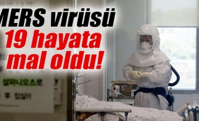 Güney Kore'de MERS virüsü 19 hayata mal oldu