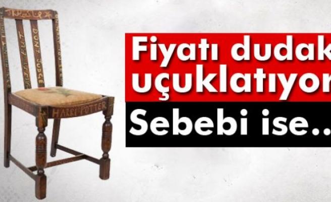 Harry Potter'ın yazıldığı sandalye rekor fiyata satıldı