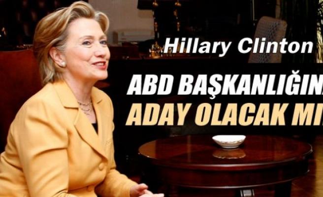 Hillary Clinton ABD başkanlığına aday olduğunu açıklayacak