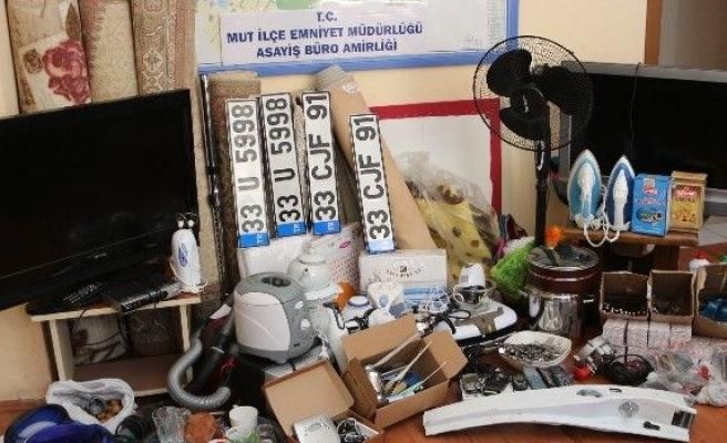 Hırsızlık Şebekesi Polis Ve Jandarmanın Operasyonu İle Çökertildi