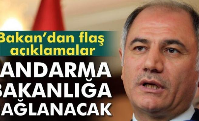 İçişleri Bakanı Ala: Jandarmayı İçişleri Bakanlığı'na bağlayacağız