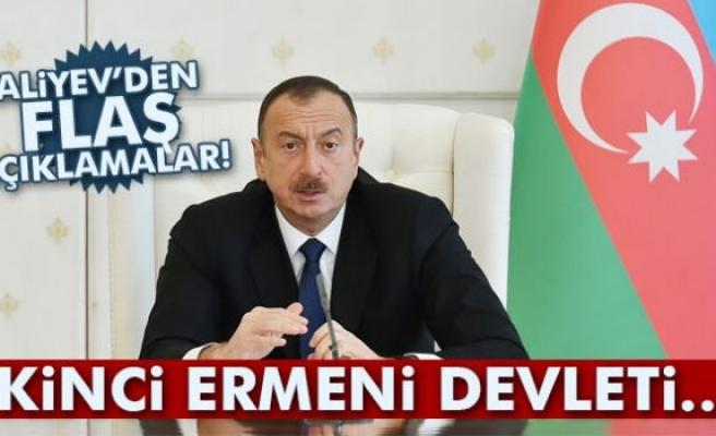 İlham Aliyev'den flaş açıklamalar!