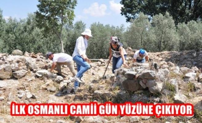 İlk Osmanlı camii gün yüzüne çıkarılıyor
