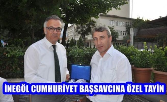 İnegöl Cumhuriyet Başsavcısı Osman Köse'ye özel tayin