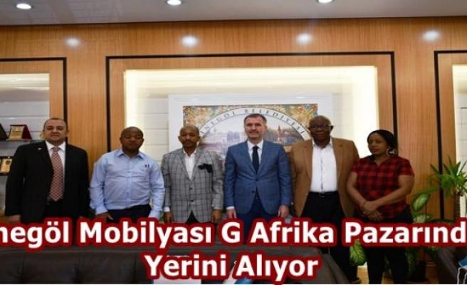 İnegöl Mobilyası G Afrika Pazarında Yerini Alıyor