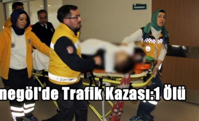 İnegöl'de Trafik Kazası:1 Ölü