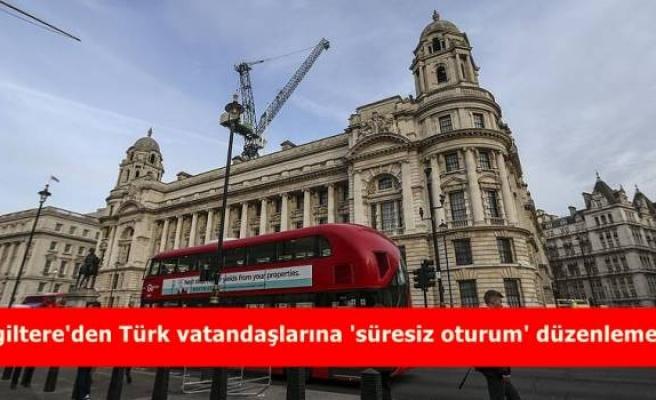 İngiltere'den Türk vatandaşlarına 'süresiz oturum' düzenlemesi