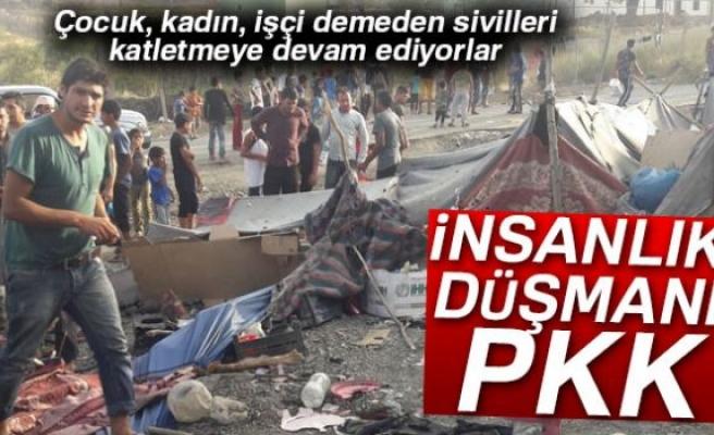 İnsanlığın düşmanı PKK