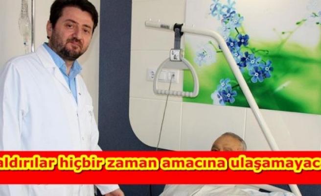 Iraklı hasta, şifayı Türkiye'de buldu