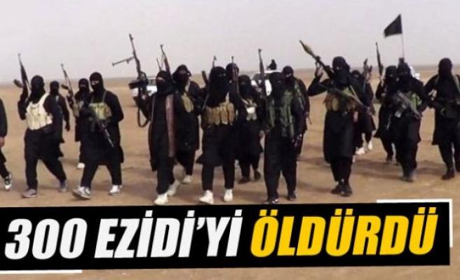 IŞİD esir aldığı 300 Ezidi'yi öldürdü