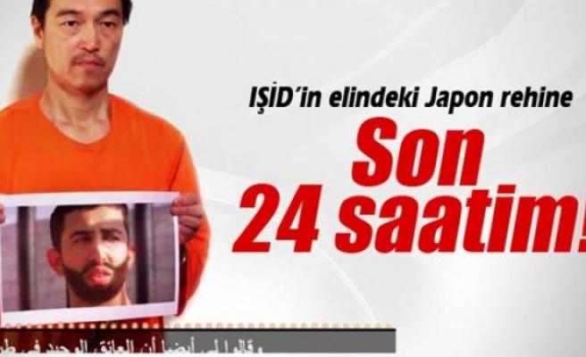 IŞİD'in elindeki Japon rehine: 'Son 24 saatim'
