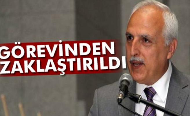 İstanbul eski Valisi Hüseyin Avni Mutlu, merkez valiliğinden uzaklaştırıldı