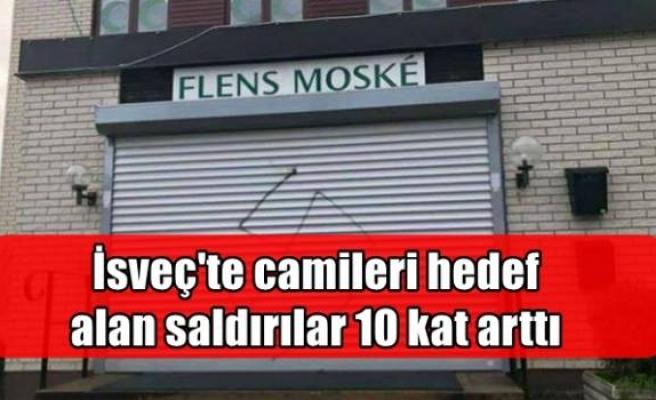 İsveç'te camileri hedef alan saldırılar 10 kat arttı
