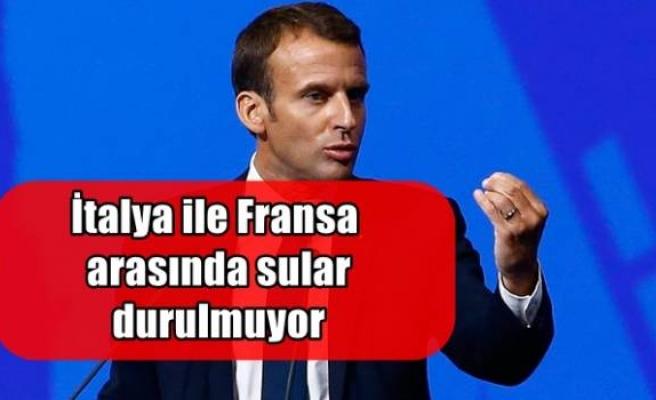 İtalya ile Fransa arasında sular durulmuyorİtalya ile Fransa arasında sular durulmuyor