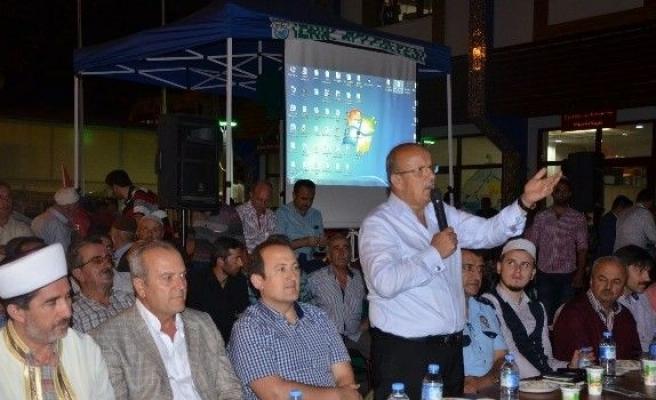 İznik'te demokrasi şehitleri için mevlit